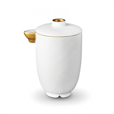 Han Gold/Soie Tressee Gold Olive Oil / Soy Pot $66.00