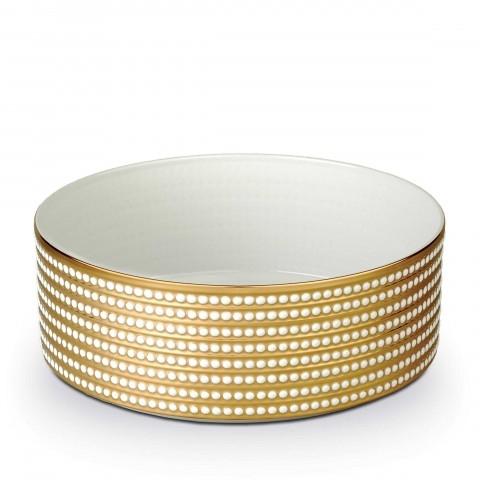 "Perlee Gold Deep Bowl - Large 12"" $1,450.00"