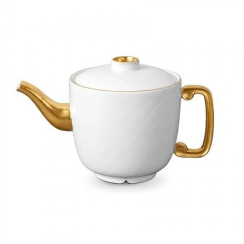 Han Gold/Soie Tressee Gold Teapot  $280.00