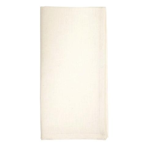 "Metallic Cross Dye Napkin White/Metallic Gold 22""Sq Sold in Sets of 4 $30.00 each"