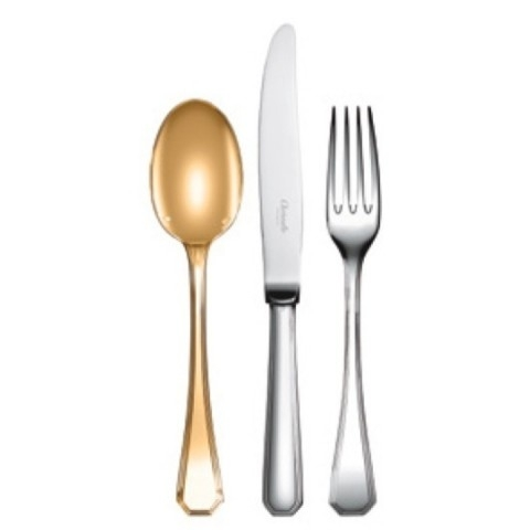 CHRISTOFLE America Gold Gilded Flatware $158.00 to $598.00