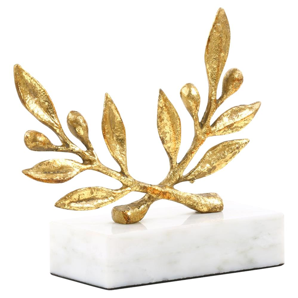 Olive Branch Marble Sculpture $88.00