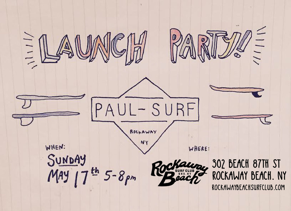 paul surf launch party rockaway beach surf club