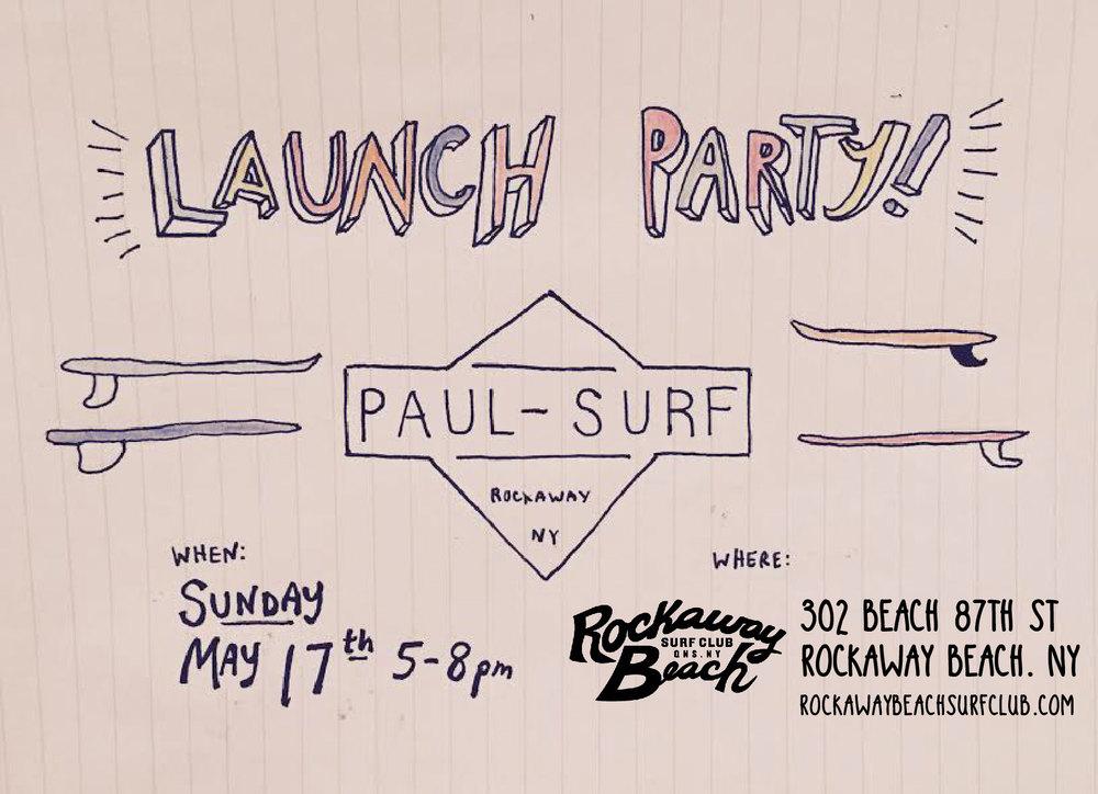 paul surf launch party rockaway beach surf club