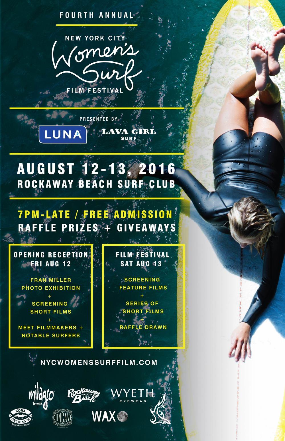 NYC Women's Surf Film Festival 2016