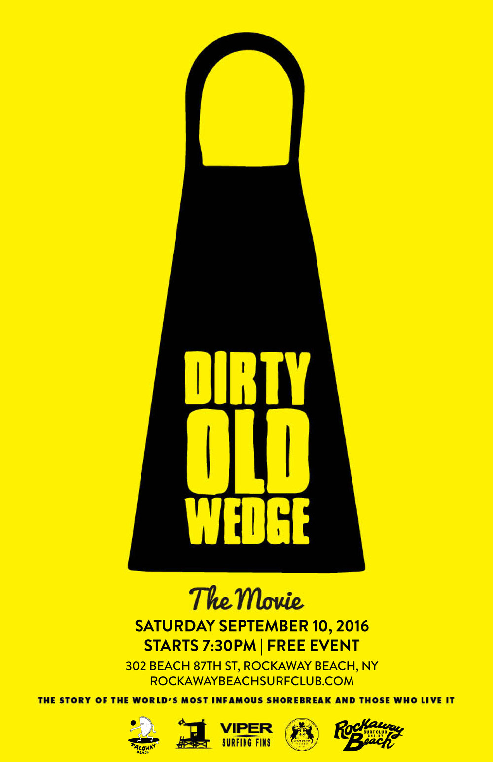 Dirty Old Wedge The Movie | Free Screening — Rockaway Beach