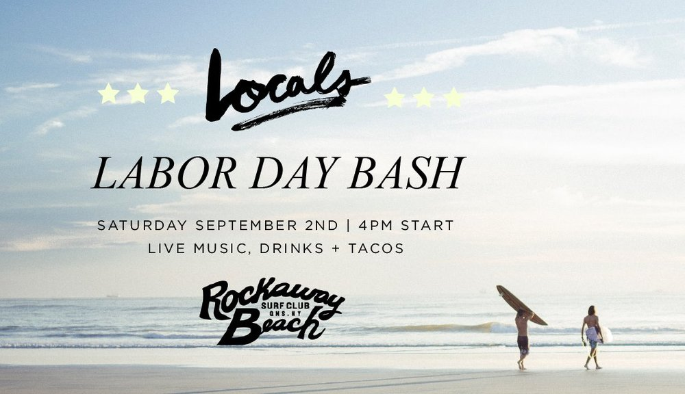 locals labor day bash rockaway beach surf club