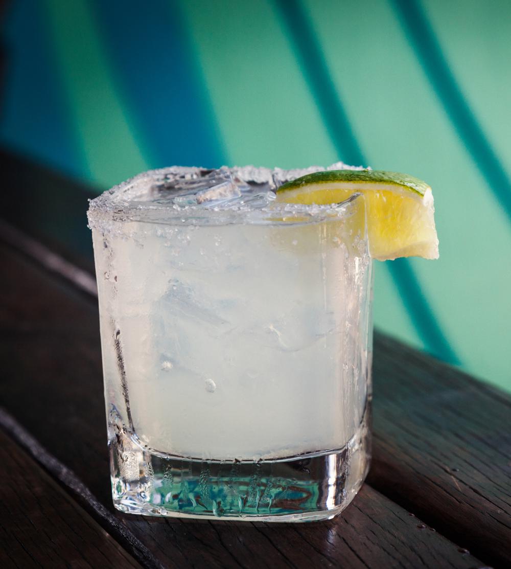 Surf club MARGARITA $9 - Sauza Silver Tequila, Fresh Lime, Grand Marnier.