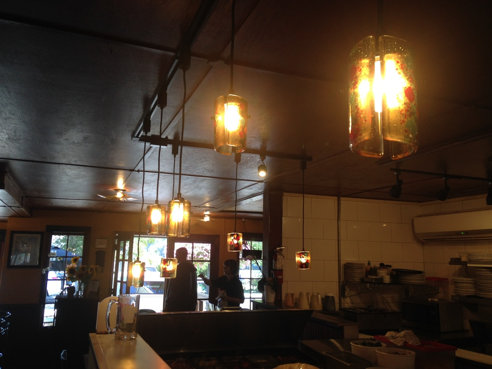 Pendant Lighting at 1285 Resto Bar