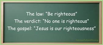 Jesus is your righteousness Matthew 5:17-26
