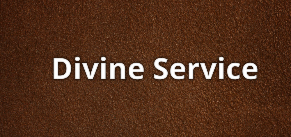 Divine Service for March 19, 2017