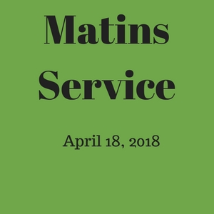 Matins Service