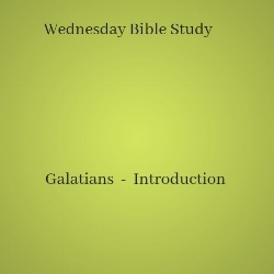 Galatians Introduction