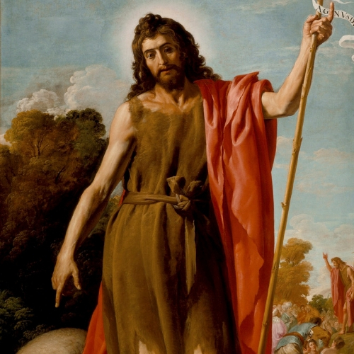 The Third Coming of Jesus  José Leonardo (Spain, 1601-before 1653)  Saint John the Baptist in the Wilderness