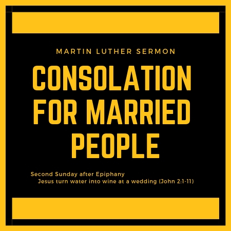 Consolation for Married People