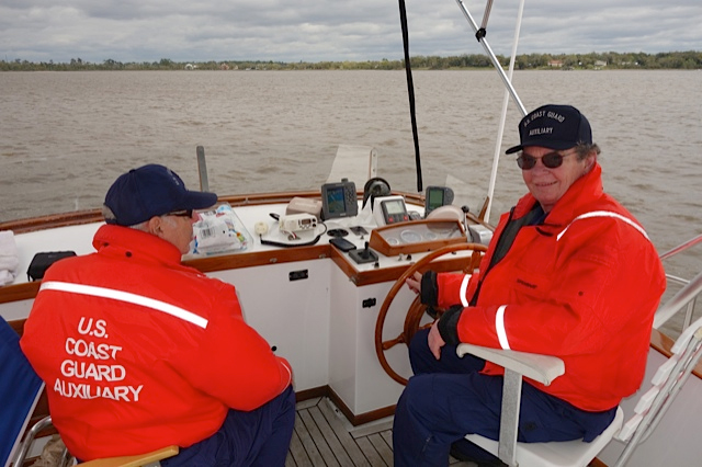 Judge Harris is a Coxswain in the US Coast Guard Auxiliary.