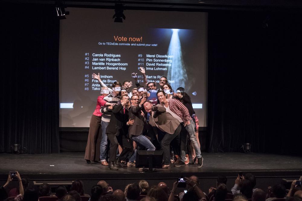 TEDxEde-OpenStage-selfie