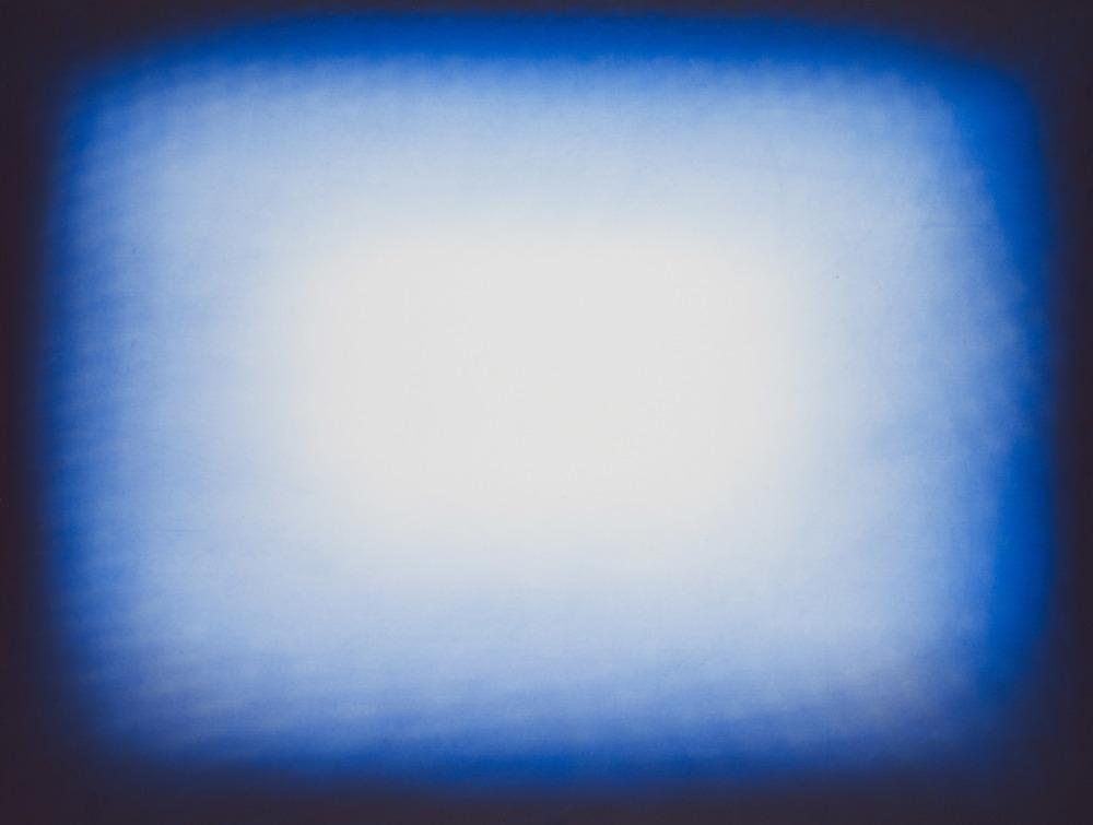 Anish Kapoor  Light Blue • 2011 Gravura em metal Edição: 39 76.2 x 100 cm