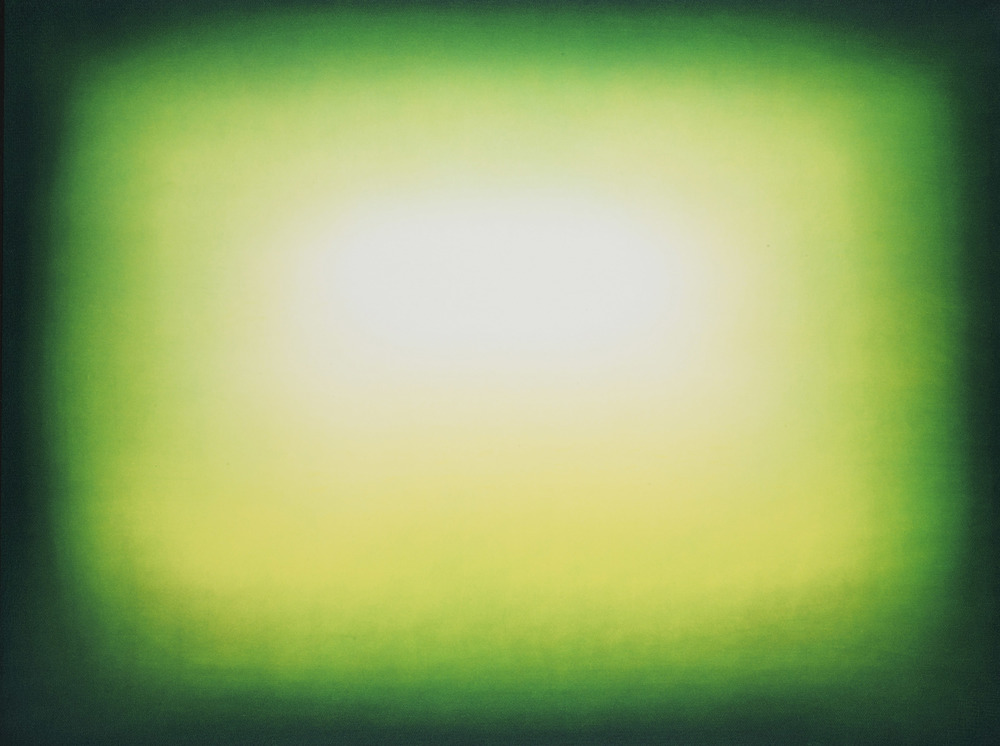 Anish Kapoor  Light Green • 2011 Gravura em metal Edição: 39 76.2 x 100 cm