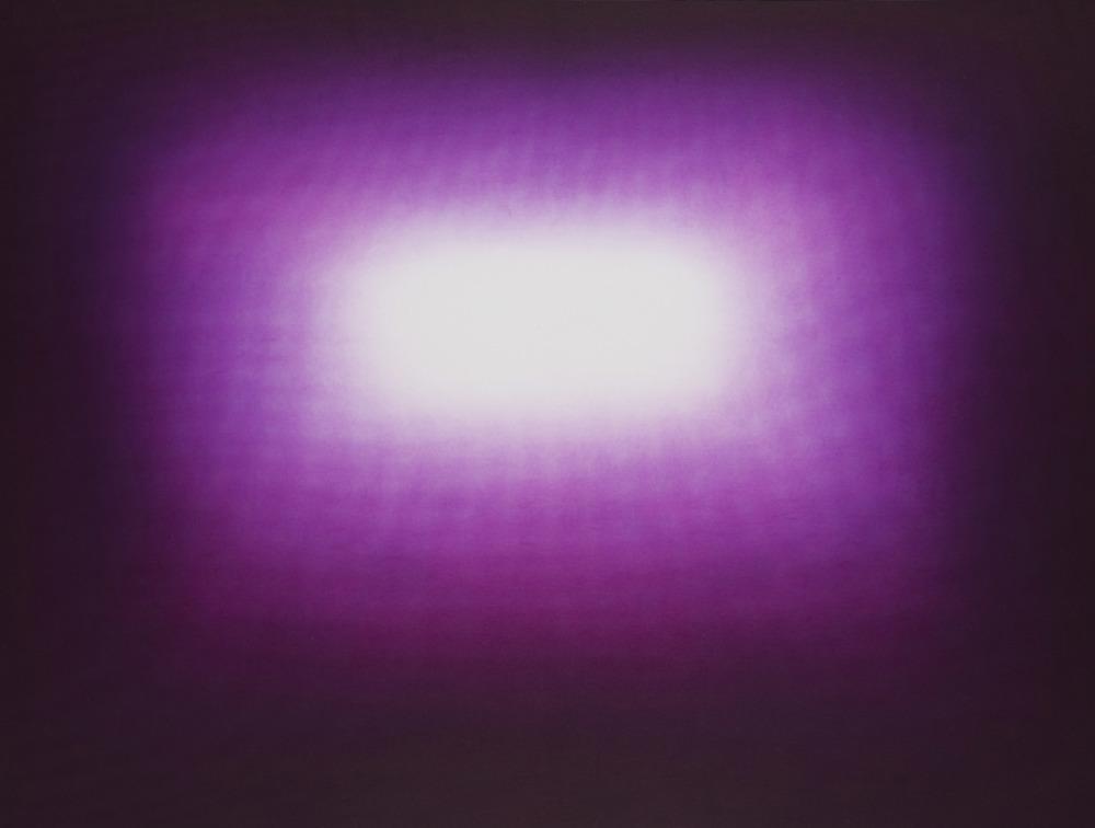 Anish Kapoor  Dark Purple • 2011 Gravura em metal Edição: 39 76.2 x 100 cm