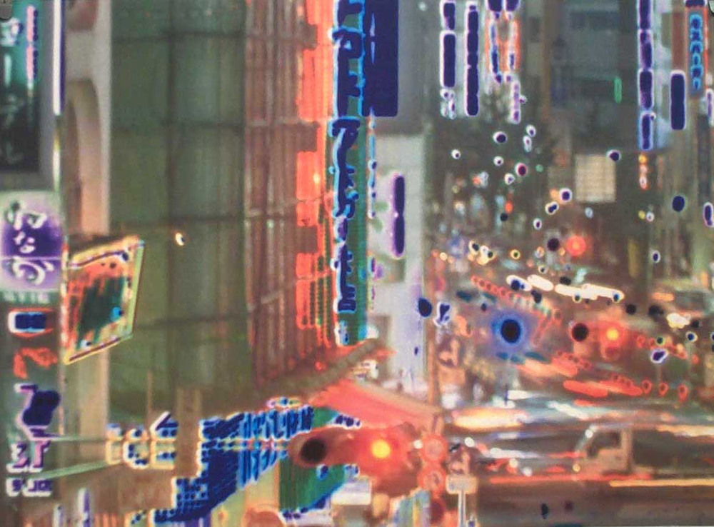 Catherine Yass  Invisible City: North West D6 • 2001 Impressão a jato de tinta   Edição: 40 59 x 80 cm