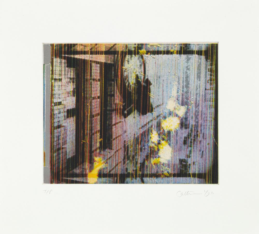 Catherine Yass  SafetyLast • 2011 Gravura em metal Edição: 20   39.0 x 35.1 cm