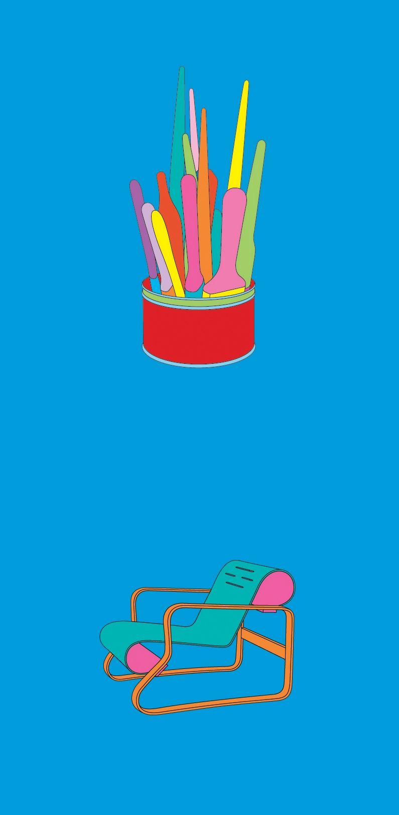 Michael Craig-Martin    Johns• 2012 Serigrafia Edição: 50   100 x 46 cm