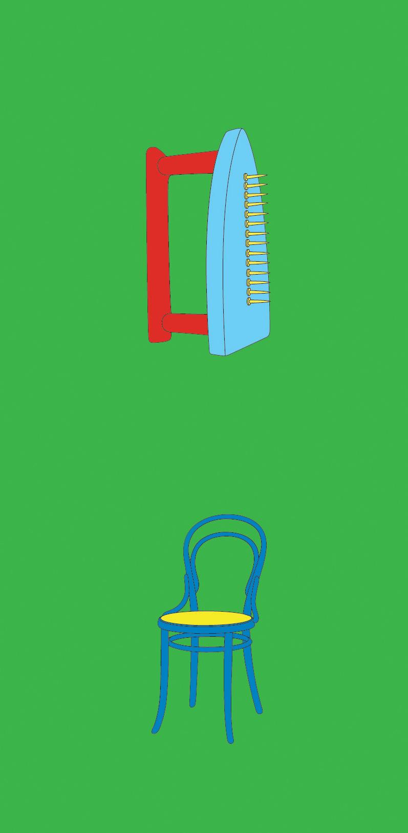 Michael Craig-Martin    Man Ray• 2012 Serigrafia Edição: 50   100 x 46 cm