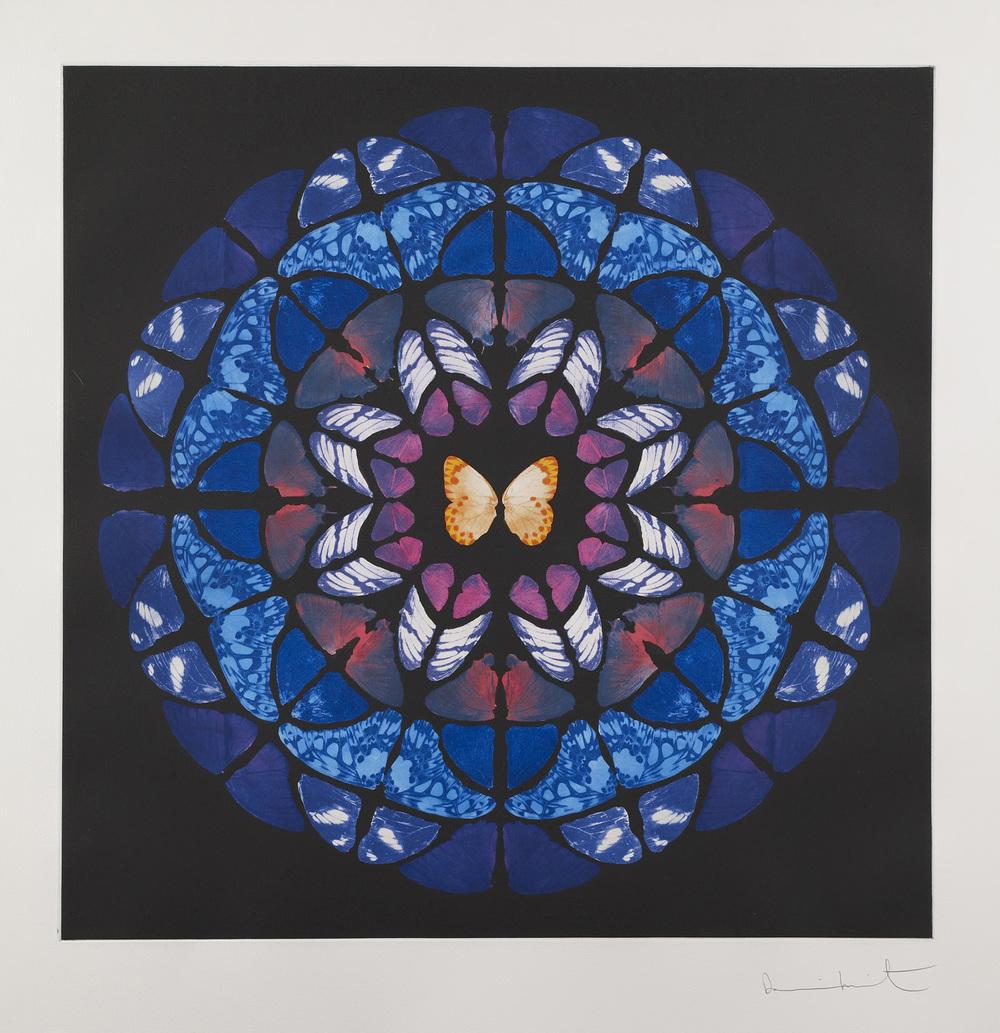 Damien Hirst  Dome • 2009 fotogravura Edição: 59 118.5 x 118.5 cm