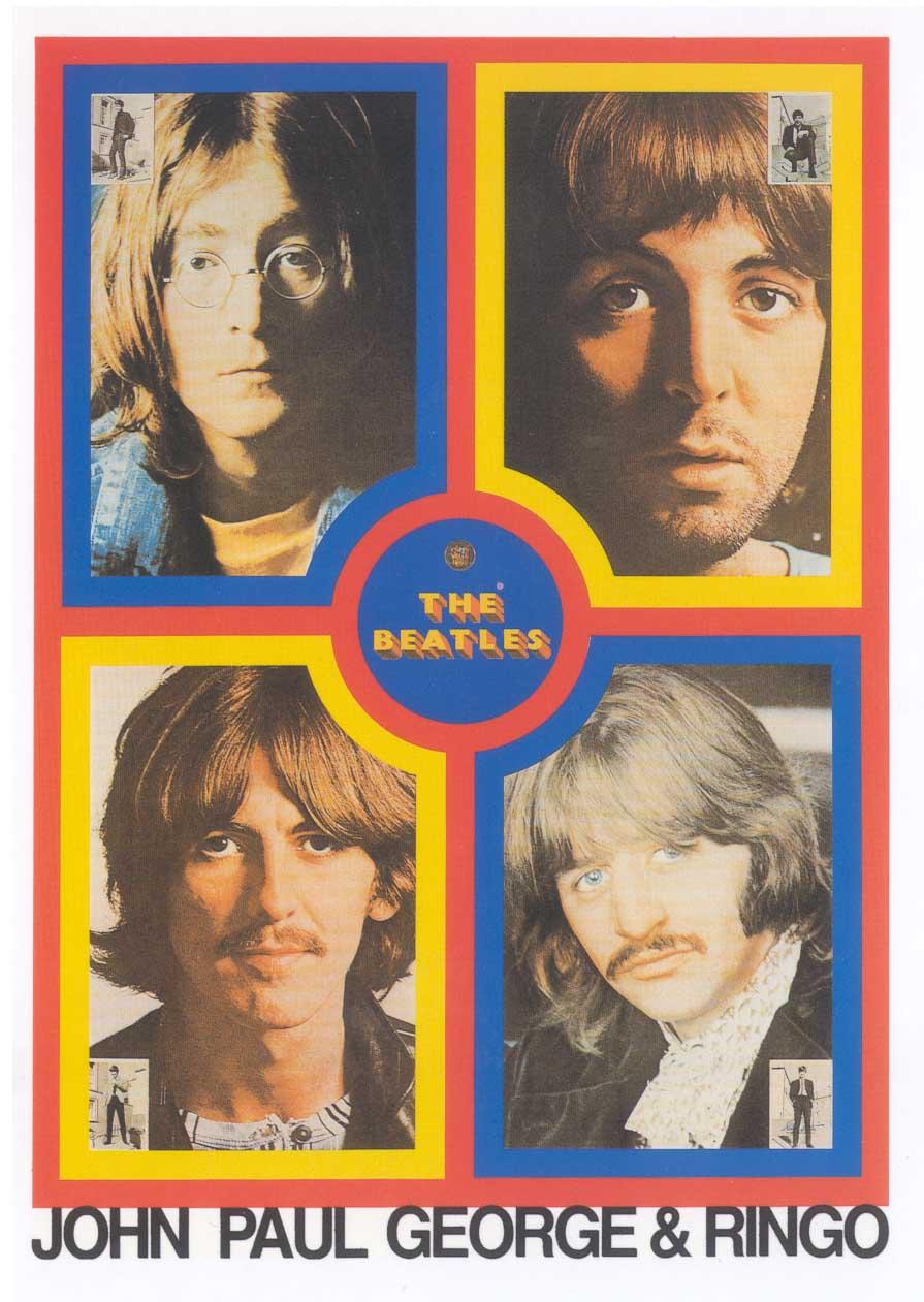 Peter Blake  The Beatles •1991   Serigrafia   Edição: 95   103 x 77.5 cm