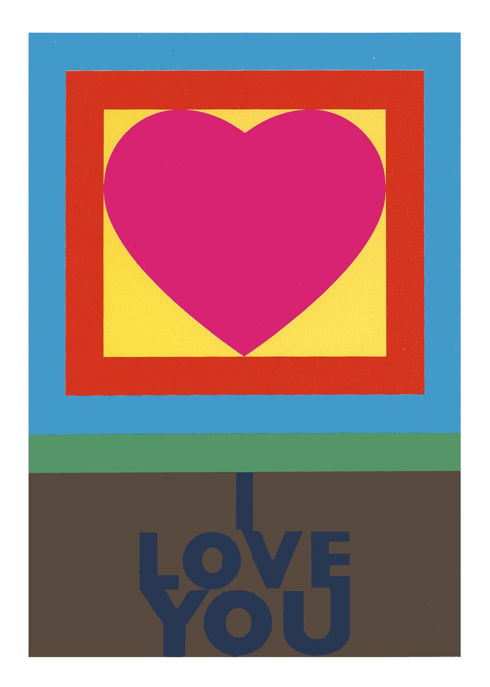 Peter Blake  H for Heart Serigrafia   Edição: 95   103 x 77.5 cm