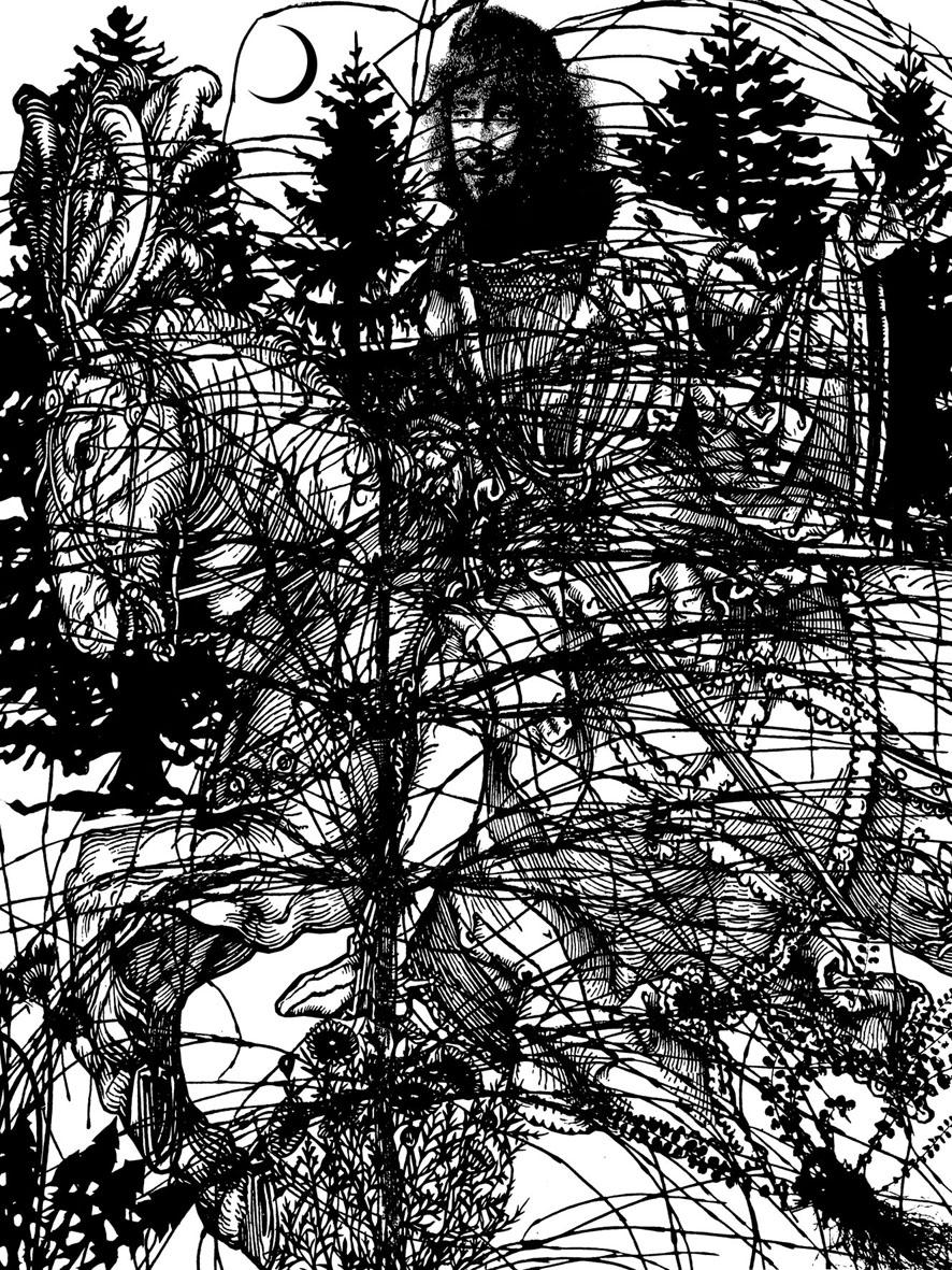Paul Morrison  Epithelium • 2006 Serigrafia Edição: 45 131.7 x 98.8 cm