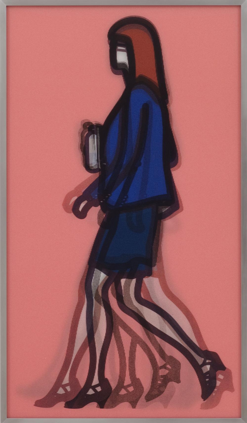 Julian Opie  Lawyer • 2014 Lenticular e Alumínio Edição: 50 83.5 x 48.5 cm