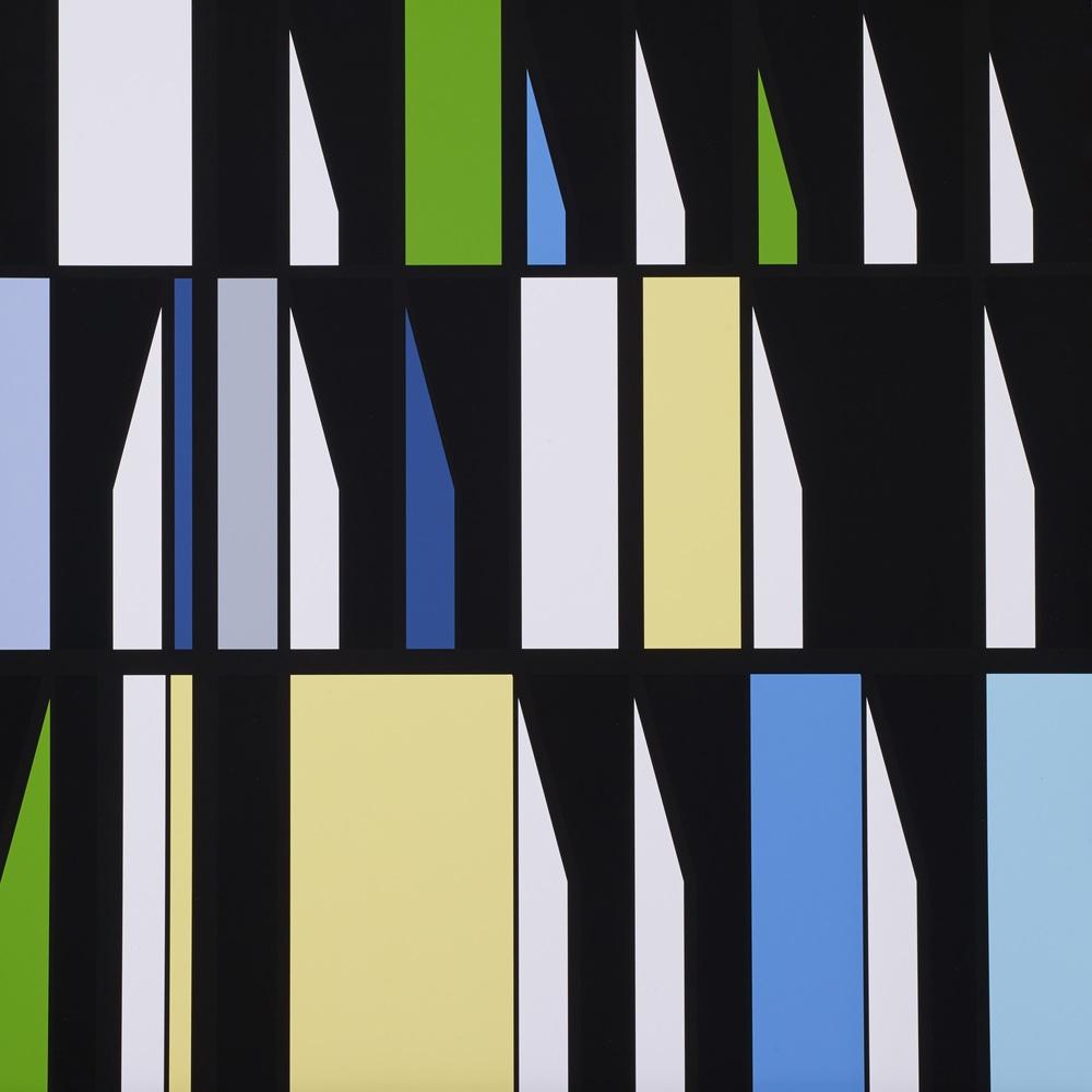 Sarah Morris     Abi  •  2014 Serigrafia Edição: 45 Sem moldura   •  75 x 75 cm