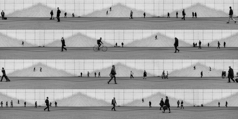 Lucas Lenci, Andares La Défense, 2014, impressão sobre papel