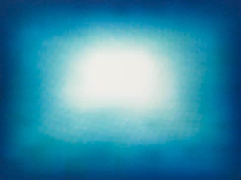 Blue Shadow 04  2013  gravura em metal  72,4 cm x 96,4 cm