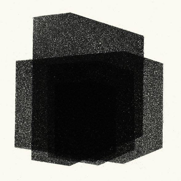 Antony Gormley Matrix II 2016 aquatinta Edição: 18/25 moldura: 37,2 x 37,2 cm