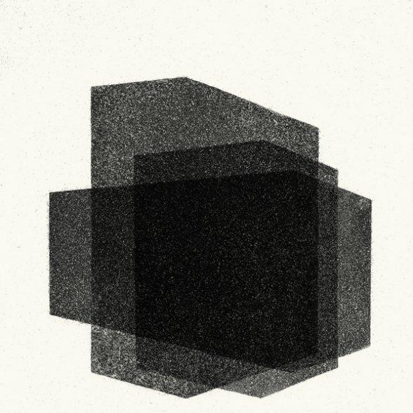 Antony Gormley  Matrix VI 2016  aquatinta Edição: 18/25 moldura: 41,2 x 41,2
