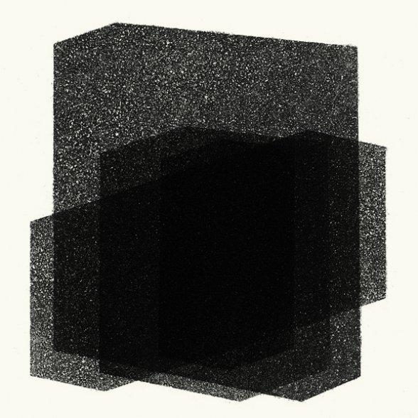 Antony Gormley Matrix I 2016 aquatinta Edição: 18/25 moldura: 37,2 x 37,2 cm
