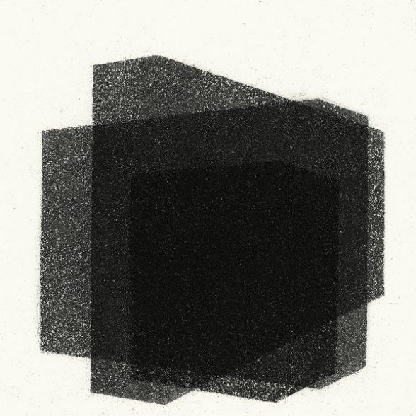 Antony Gormley Matrix III 2016  aquatinta Edição: 18/25 moldura: 37,2 x 37,2 cm