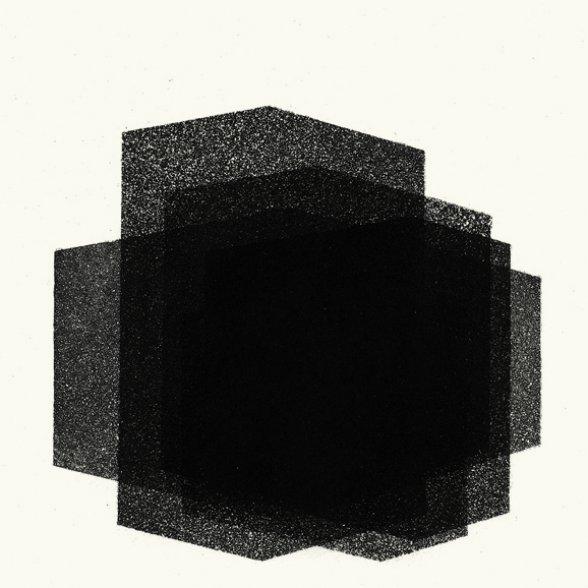 Antony Gormley Matrix IV 2016 aquatinta Edição: 18/25 moldura: 37,2 x 37,2 cm