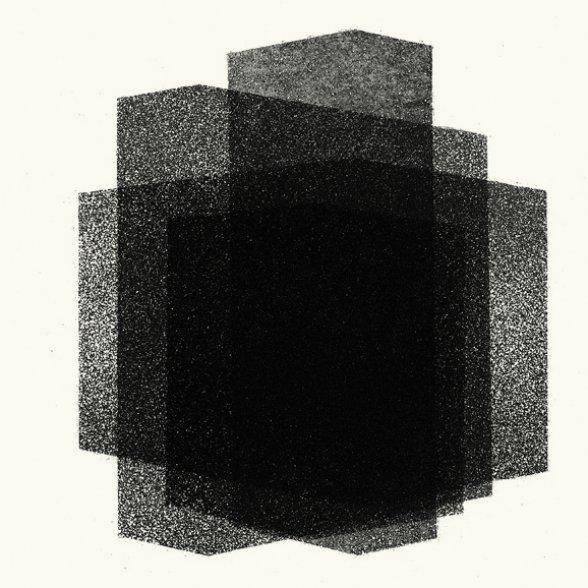 Antony Gormley Matrix V 2016 aquatinta Edição: 18/25 moldura: 41,2 x 41,2
