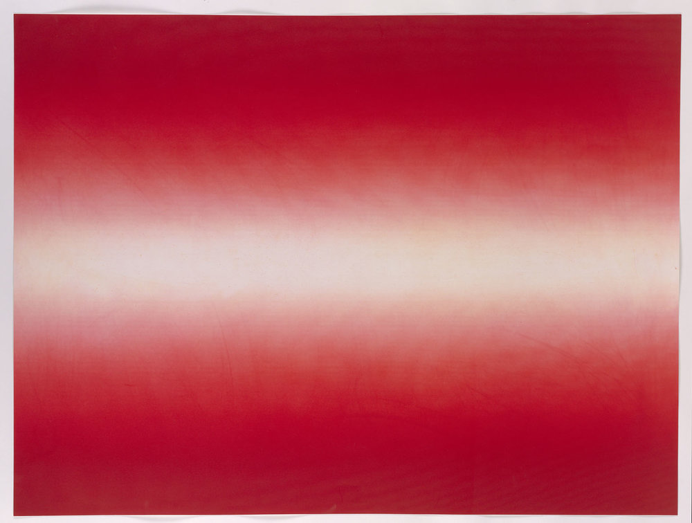 Anish Kapoor Shadow III 2016 Impressão em metal Edição: 30/39 papel: 72,5 x 96,5 cm/ com moldura:76 x 100 cm