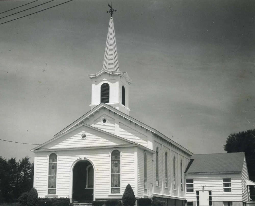 The church in 1957