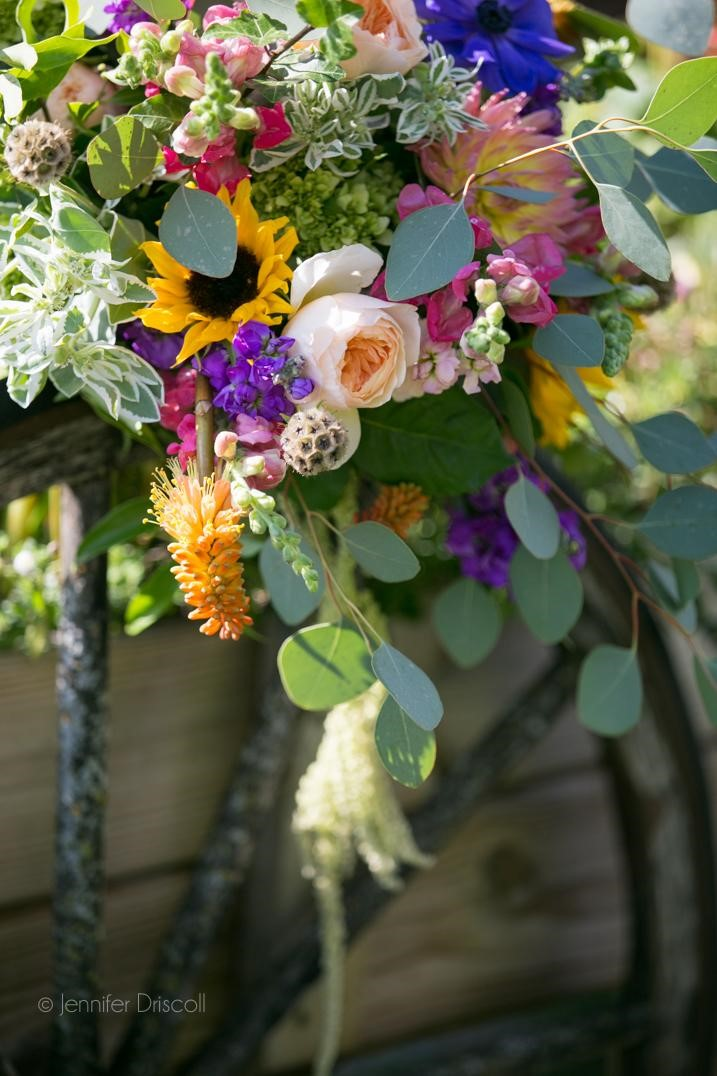 Another shot of the bouquet above. Photo by Jennifer Driscoll Photography.
