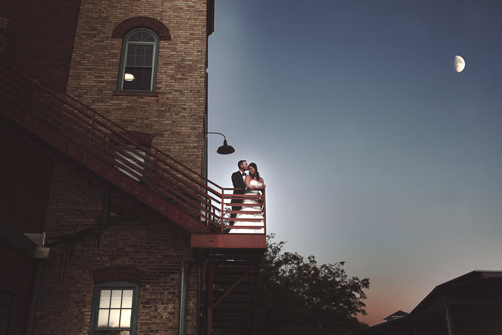 The fire escape. Photo by  Lindsey Marie Photography .