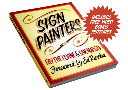 Sign Painters, the first anecdotal history of the craft, features stories and photographs of more than two dozen sign painters working in cities throughout the United States.