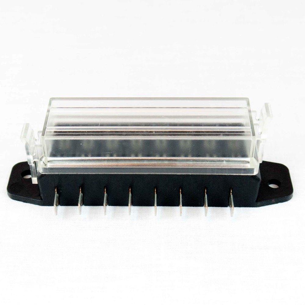 hella h84960111 8 way lateral single fuse box 62940 partshubdirect