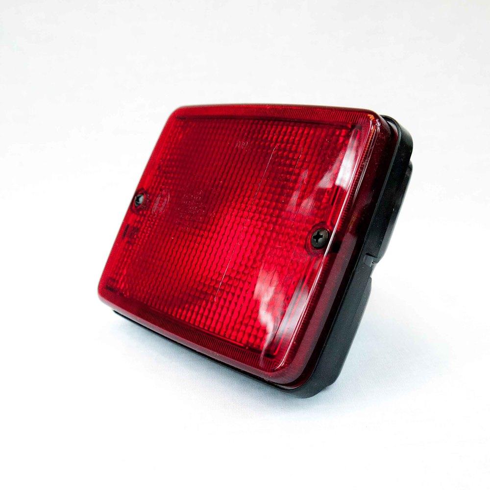 HELLA 003236137 3236 Series P21/5W Type Red Flushmount Stop/Tail Lamp 81441