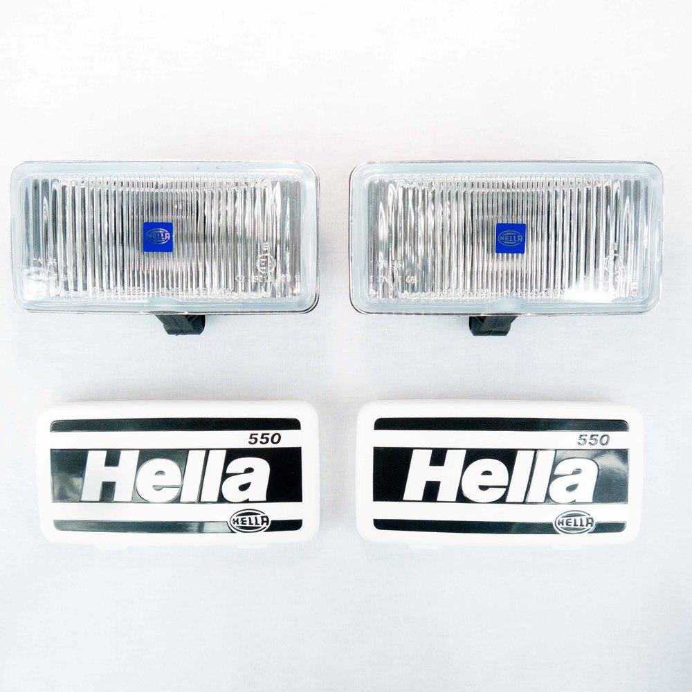 Hella 005700901 550 Series 12v 55w Halogen Fog Lamp Kit
